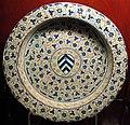 Manises, piatto con stemma guasconi, 1450 ca..JPG