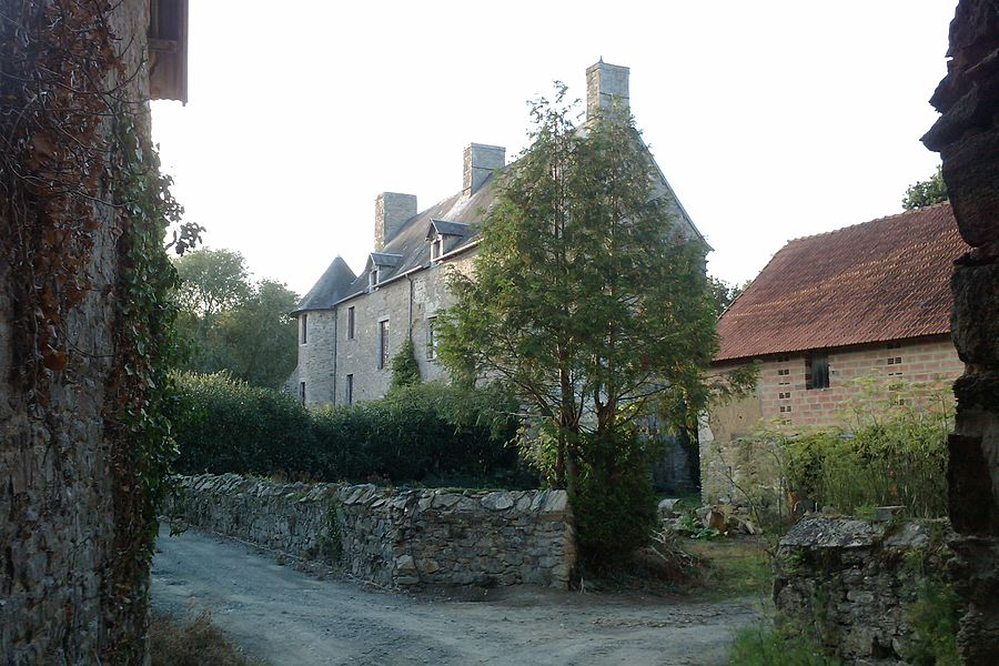 Manoir d'Hubertant, à Lozon (France)