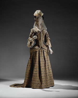 Mantua (clothing) - Image: Mantua MET DT11788