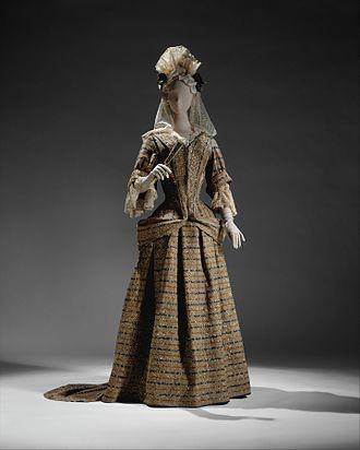 Mantua (clothing) - Image: Mantua MET DT11788
