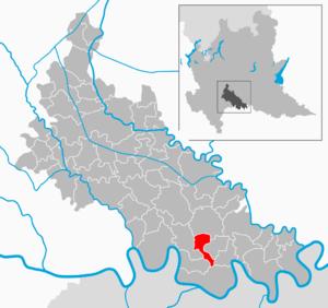 Fombio - Image: Map IT Lodi Fombio