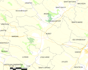 Map commune FR insee code 32012.png