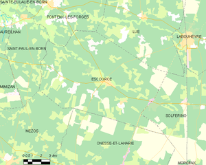 Map commune FR insee code 40094.png