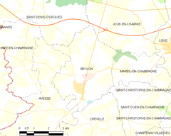 Map commune FR insee code 72050.png