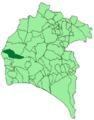 Map of El Almendro (Huelva).png