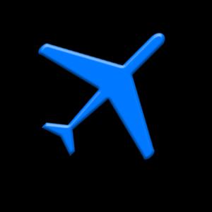 Blora Regency - Image: Map symbol airport 02