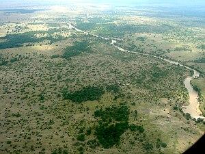 Mara River - The Mara River in Kenya