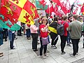March for Welsh Independence arranged by AUOB Cymru First national march; Wales, Europe 32.jpg