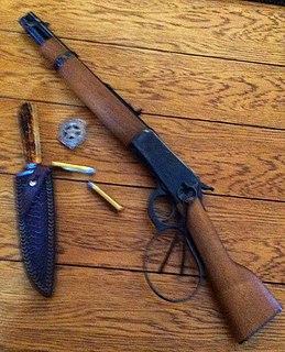 Mares Leg Cut down lever action rifle