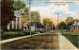 National Register of Historic Places listings in Grenada County, Mississippi - Image: Margin Street Grenada