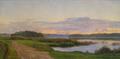 Marie Luplau - Aftenstemning ved Fredensborg - 1898.png