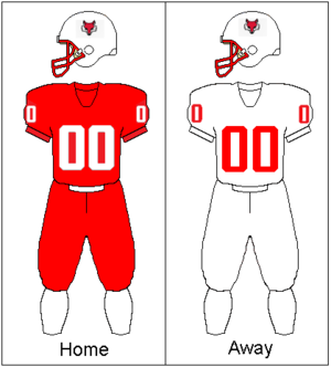 Marist Red Foxes football - Image: Marist Uniform