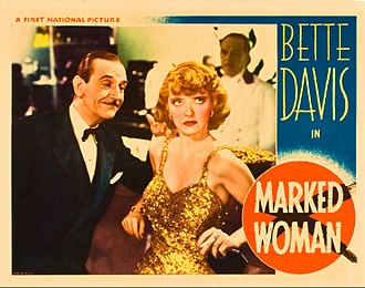 Marked Woman - Lobby card