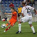Marko Marin (SV Werder Bremen), Pavel Drsek (FK Jablonec).jpg