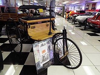 Martin Auto Museum - 1886 Benz Patent-Motorwagen