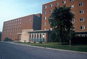 University of Dayton - Stuart Hall, circa 1977