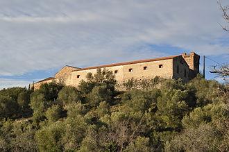 Calce - The château of Mas de Las Fons