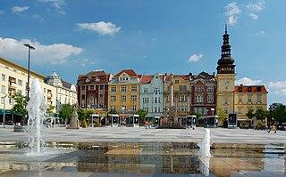 Ostrava city in the Czech Republic