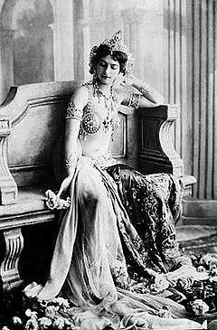 Mata Hari all'apice del successo, nel 1906