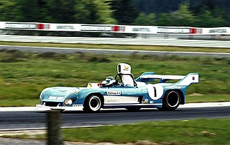 Matra-Simca MS670 - Jean-Pierre Jarier in the MS670C sharing with Jean-Pierre Beltoise at the 1974 1000km of Nürburgring.
