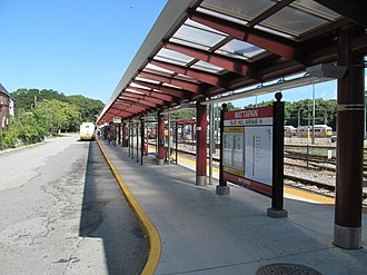 Mattapan station - North busway at Mattapan station