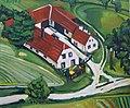 """Matthias Laurenz Gräff, """"Bäuerliches Anwesen Heichinger in Sankt Leonhard am Hornerwald"""".jpg"""