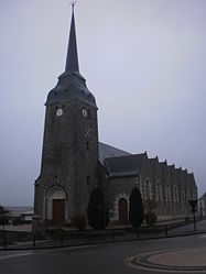 The church in Maumusson