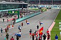 Max Verstappen supporters running to the podium 2017 Malaysia.jpg