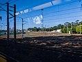 Mayne Junction deserted during flood from Roma St train Mayne Junction Bowen Hills P1090959.jpg