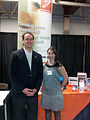 Mayor Mark Gerretsen at the Kingston Council on Aging 4 Life Expo.jpg