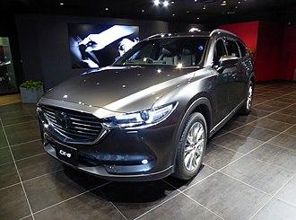 Mazda CX-8 - Image: Mazda CX 8 XD L Package 4WD (3DA KG2P) front