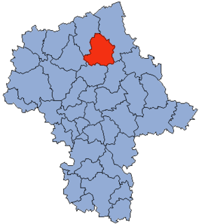 County in Masovian, Poland