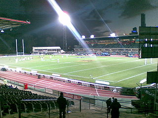 sports stadium in Melbourne (demolished in 2012)