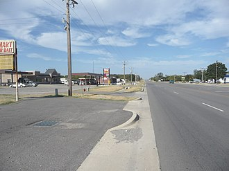 Mead, Oklahoma - Image: Meadokrahomely 73449