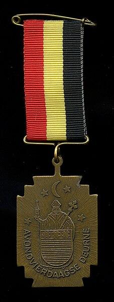 Bestand:Medaille avondvierdaags deurne 1991.jpg