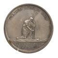 Medalj utgiven av Vetenskapsakademien, 1818 - Skoklosters slott - 100164.tif