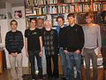 Meeting with Uri Avnery in his flat (4236839792).jpg