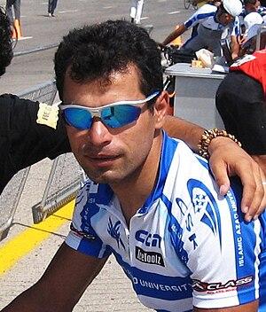 Mehdi Sohrabi - Sohrabi at the 2008 Iranian National Road Race Championships.