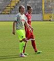 Meike Messmer und Simone Laudehr BL FCB gg. 1. FC Koeln Muenchen-1.jpg