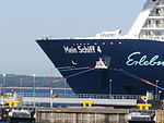 Mein Schiff 4 Name Sign Tallinn 9 August 2015.JPG