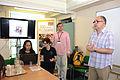 Mel Nunn introduces the Wikipedia training session.jpg