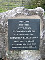 Memorial Garden Plaque Horton in Ribblesdale. - geograph.org.uk - 432640.jpg