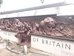 Memorial to The Battle Of Britan on The Embankment. - geograph.org.uk - 1224907.jpg