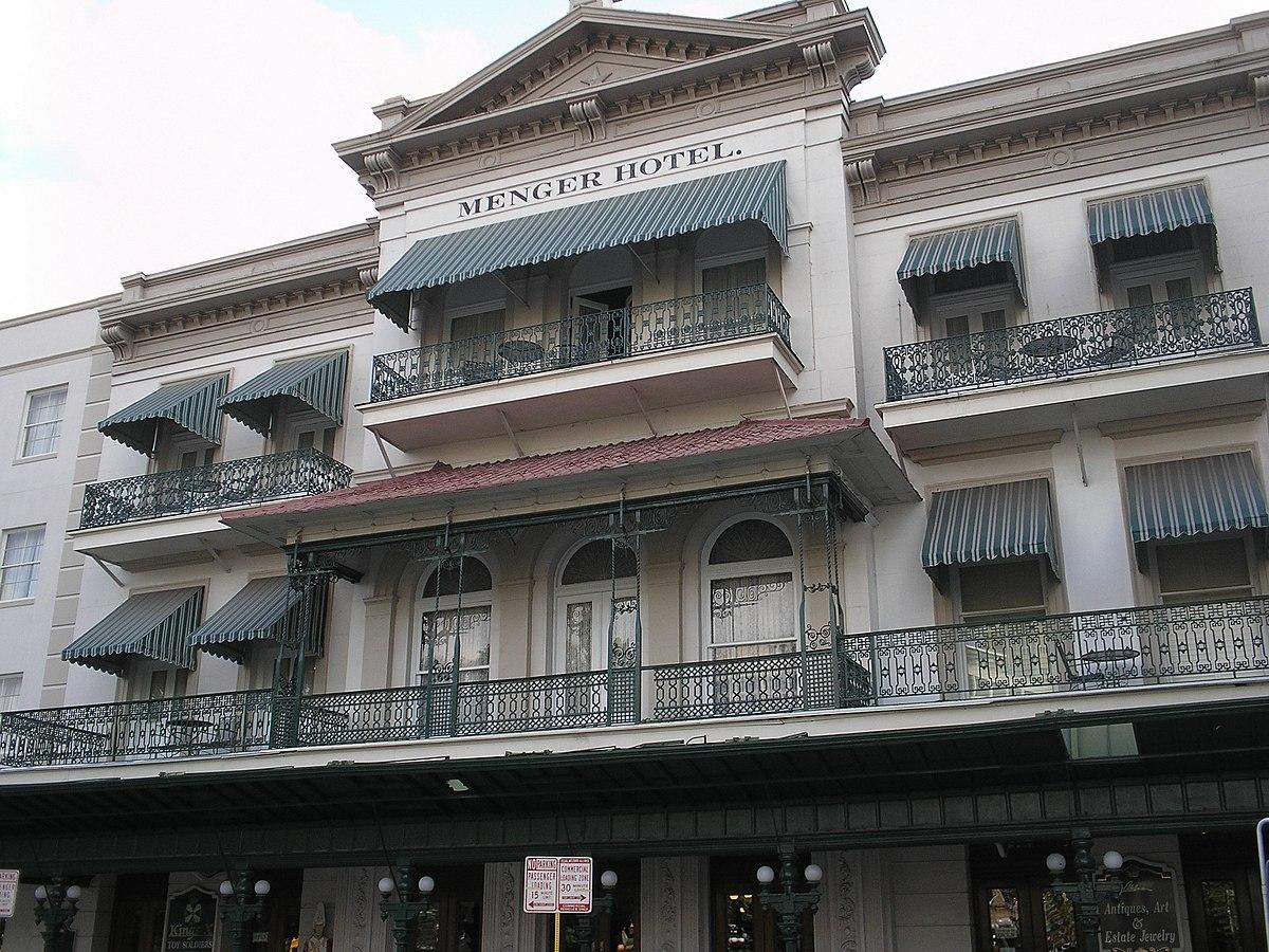 Menger Hotel Wikipedia