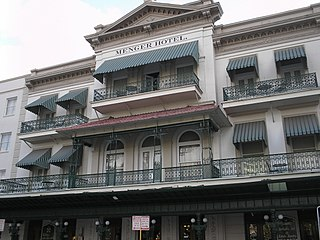 Menger Hotel United States historic place