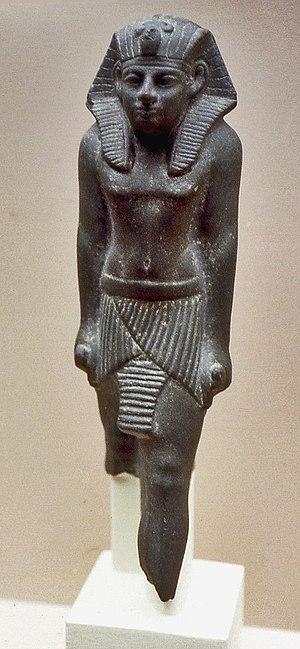 Merankhre Mentuhotep - Statue of Mentuhotep VI, British Museum EA 65429.