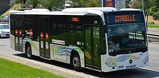 Mercedes-Benz Citaro Low-floor bus from Mercedes-Benz/EvoBus