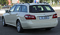 "Mercedes E 200 CDI BlueEFFICIENCY T-Modell ""Das Taxi"" (S212) rear 20100821.jpg"