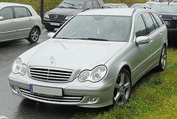 Mercedes S203 Facelift (2004-2007) Avantgarde front-1 MJ.JPG