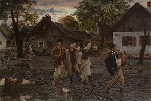 Uroš Predić - Image: Merry brothers 1887